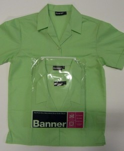 Swakeleys Girls School Green Blouse
