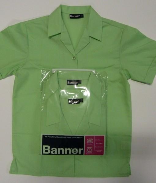 Swakeleys Girls School Green Blouse