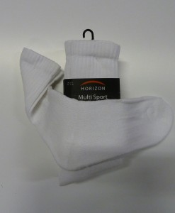 Windsor Boys White PE Socks