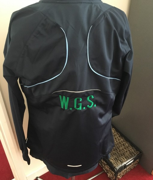 WGS Track Top back